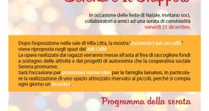 Serata di beneficenza per Lions club, Serena e Il Grappolo